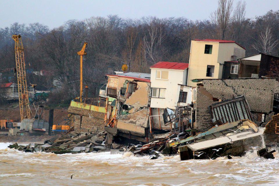 Schreitet die globale Erwärmung voran, wird es immer häufiger und heftigere Naturkatastrophen...