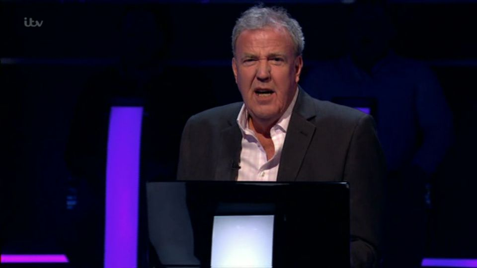 Jeremy Clarkson Suffers Mortifying 'Who Wants To Be A Millionaire?' Blunder
