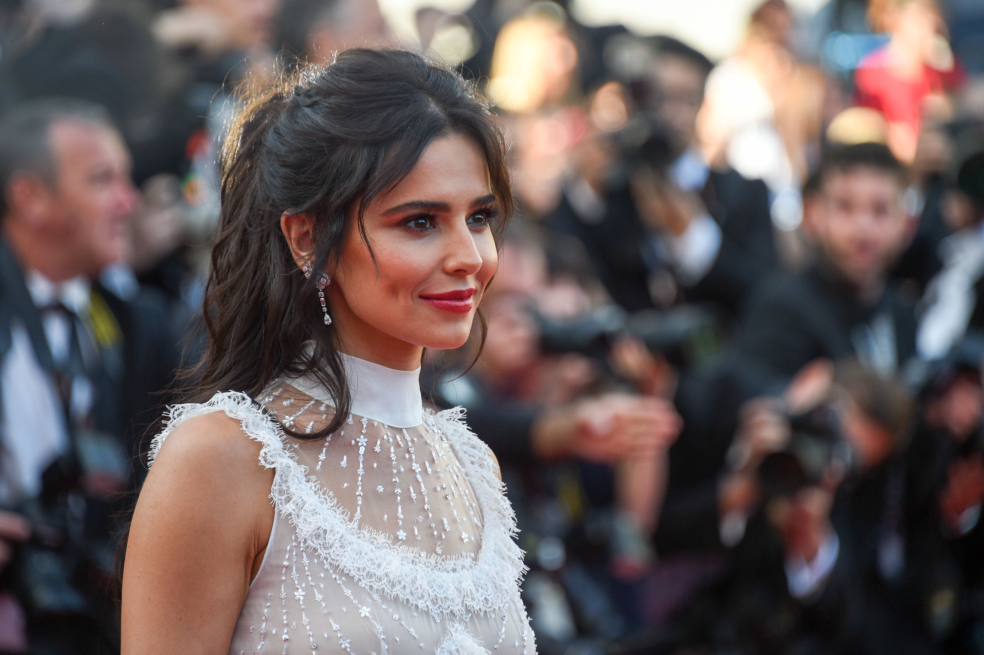 Cheryl Hits The Red Carpet At Cannes After Touching Down On A Private