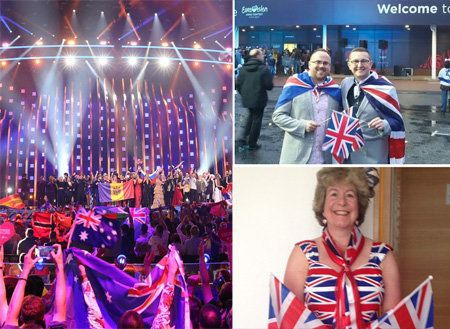Meet The Eurovision Superfans Who Travel All Over Europe To Cheer On The UK