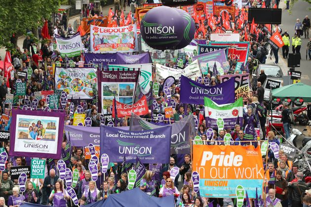 TUC March Sees Tens Of Thousands Take To London's Streets To Demand 'New Deal' For