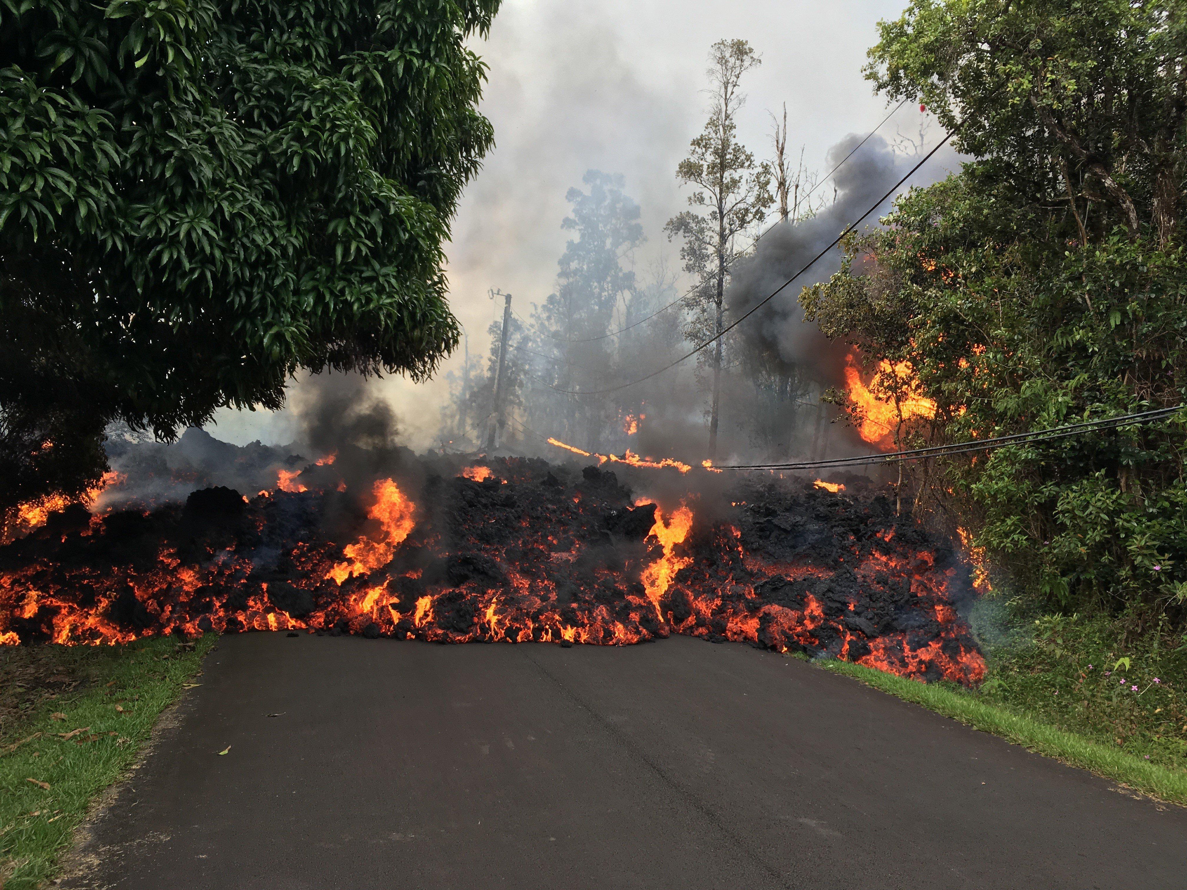 Trump Declares Hawaii's Devastating Eruptions A Major Disaster