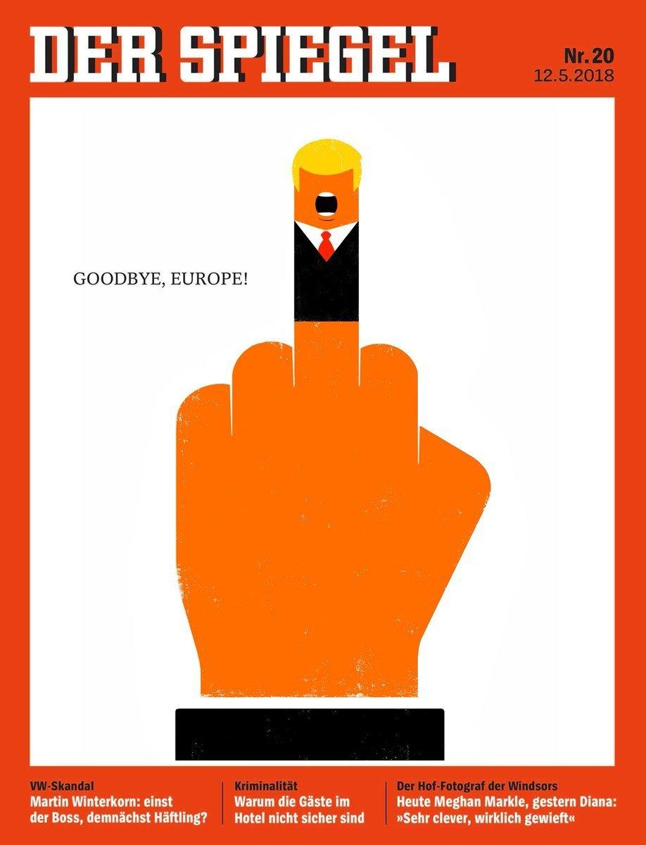 To Spiegel απασφάλισε: Γιατί σηκώνει το μεσαίο δάχτυλο στον