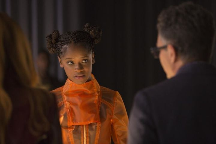 "Letitia Wright as Shuri in ""Avengers: Infinity War."""