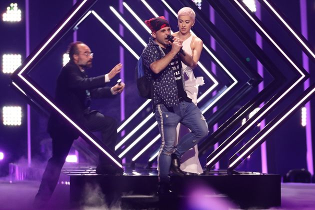The moment that left Eurovision fans around the globe