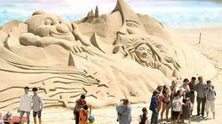 2018 해운대 모래축제엔 '아이언맨'이
