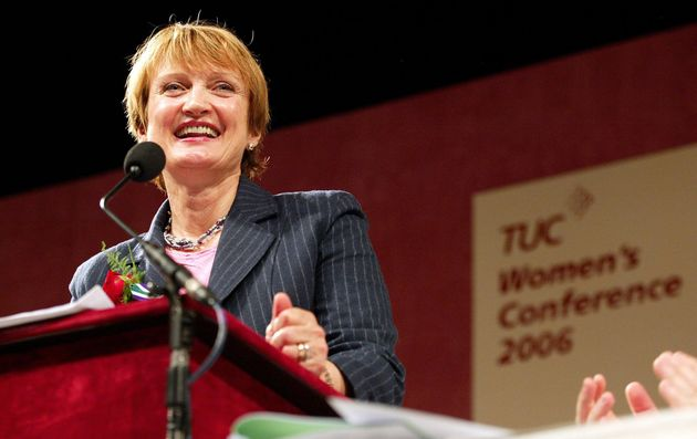 Tessa Jowell addressing the TUC women's conference on International Women's Day in