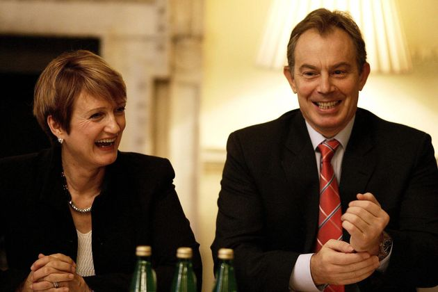Jowell alongside former prime minister Tony