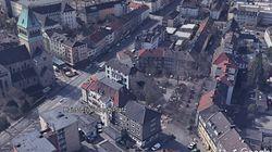 Erster Planungsentwurf für den neuen Hans-Ehrenberg-Platz in