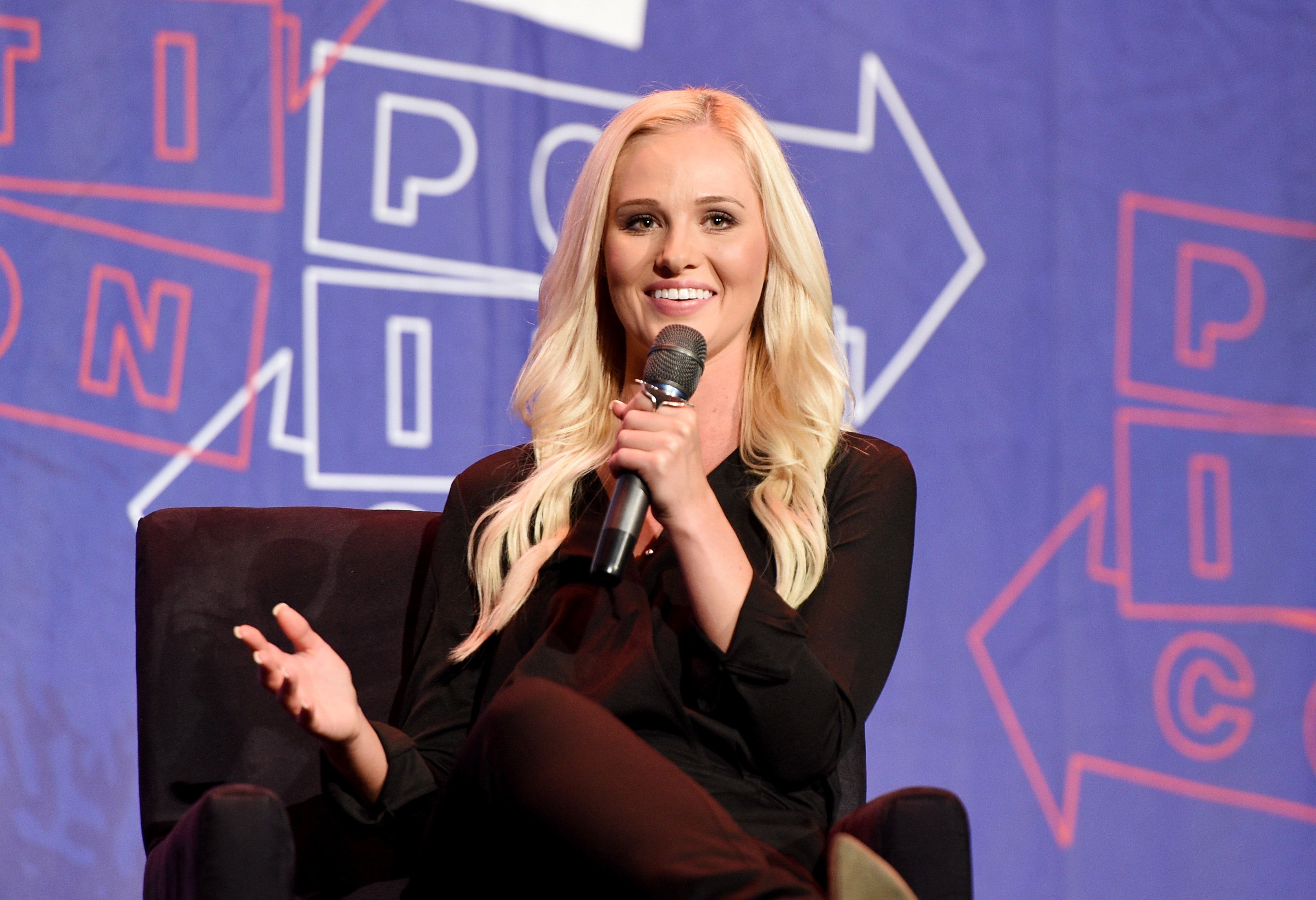 "Tomi Lahren, the descendant of immigrants from <a href=""https://twitter.com/CleverTitleTK/status/995680514974650368"" tar"