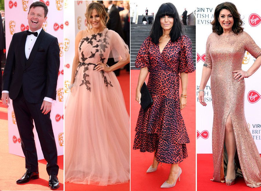 All The Pics You Need To See From The TV BAFTAS Red