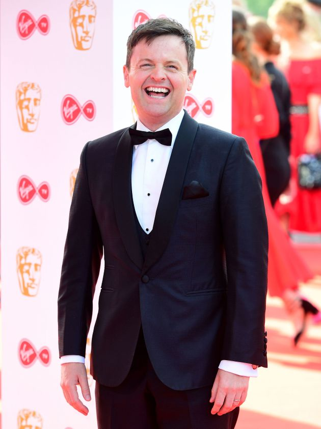 Declan Donnelly attended the TV BAFTAs without Ant