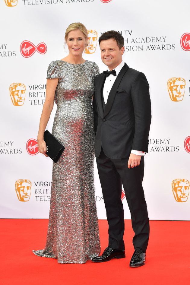 Dec with his wife Ali
