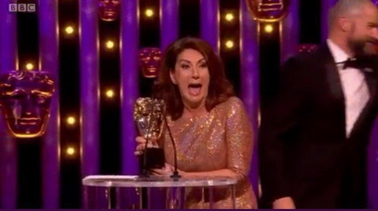 Jane McDonald Has The Best Reaction As She Becomes An Unlikely BAFTA