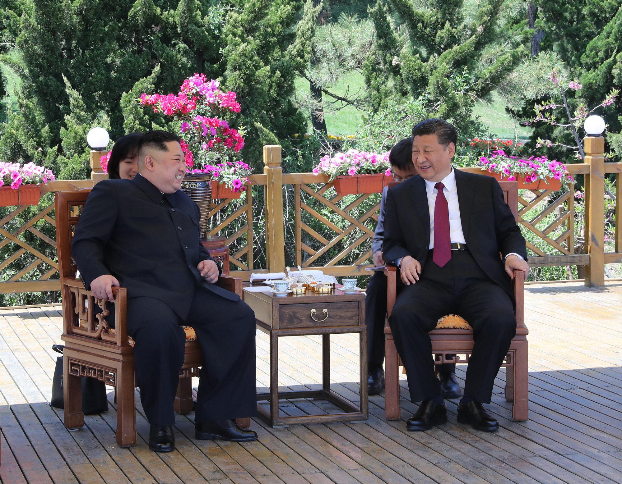 김정은이 40여일만에 시진핑을 다시 찾은 이유가