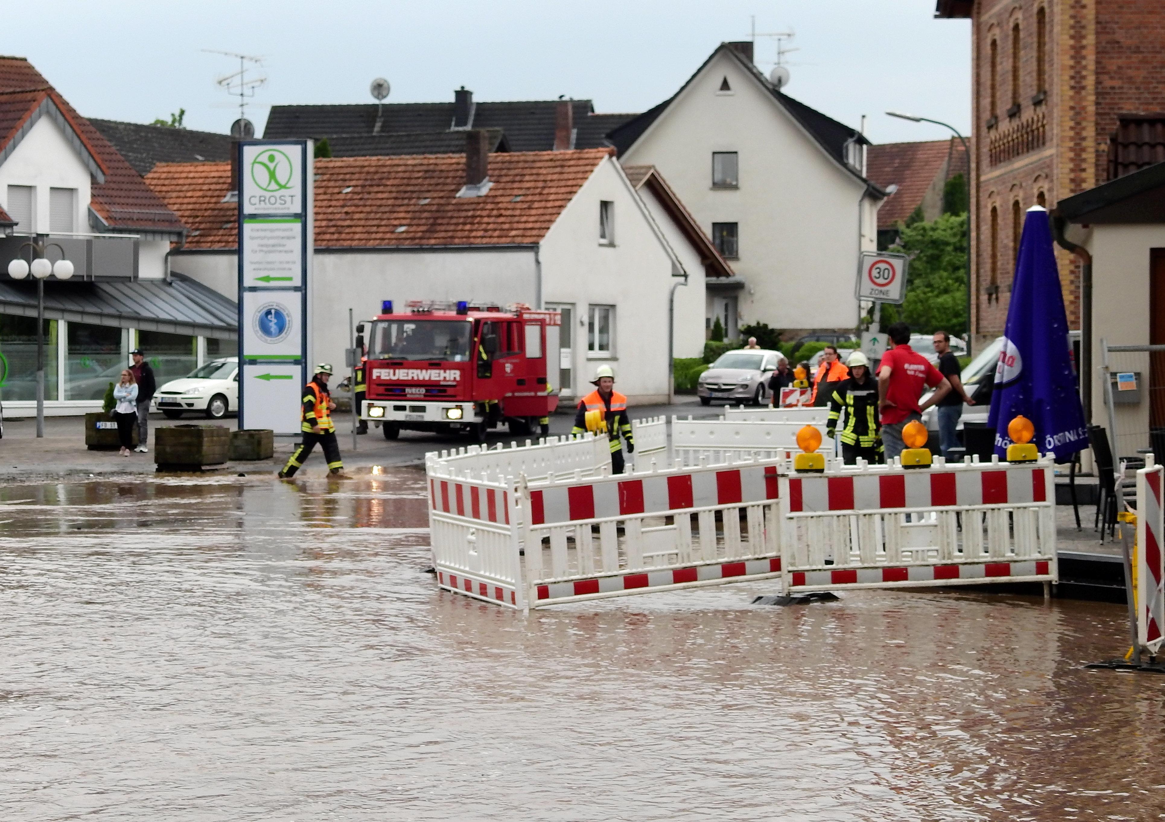 Vollgelaufene Keller beschäftigen Feuerwehr in Osnabrück