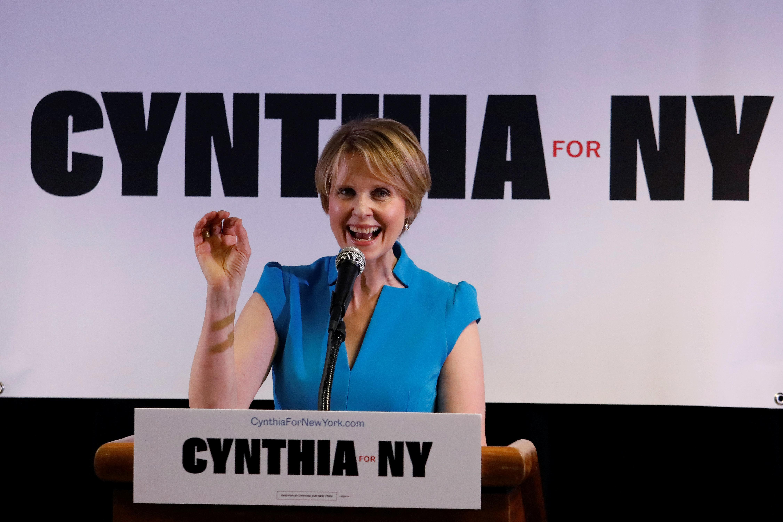 Η πολιτική ατζέντα της Cynthia Nixon ως υποψήφια κυβερνήτης της Νέας Υόρκης
