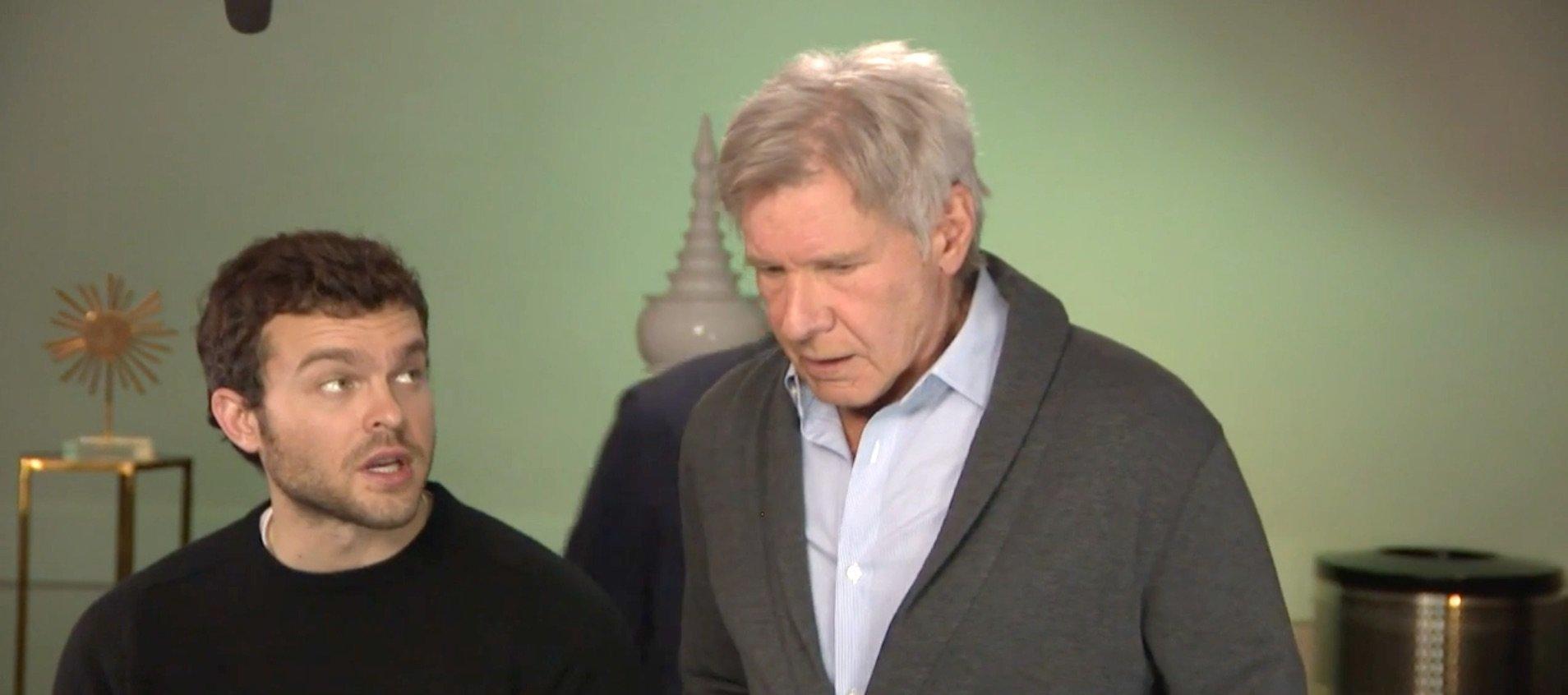 Harrison Ford Alden Ehrenreich