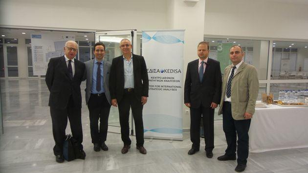 «Η Ελλάδα Γεωστρατηγικός Ενεργειακός Κόμβος της Ευρώπης», μια εκδήλωση του