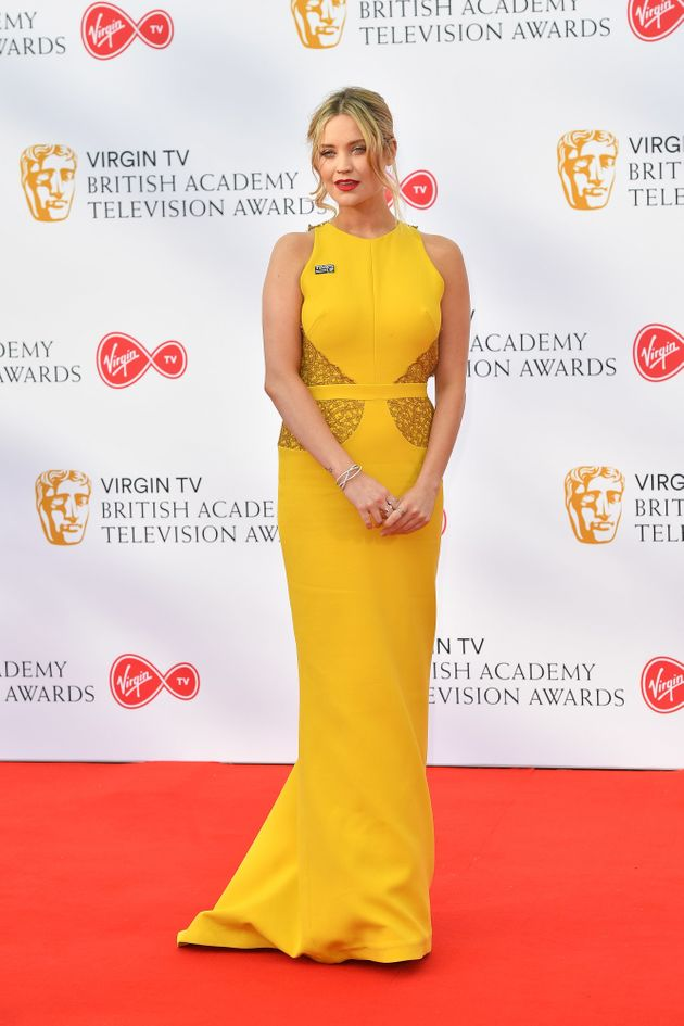 Looks We Love: Michelle Keegan's Buttercup Yellow Dress At The