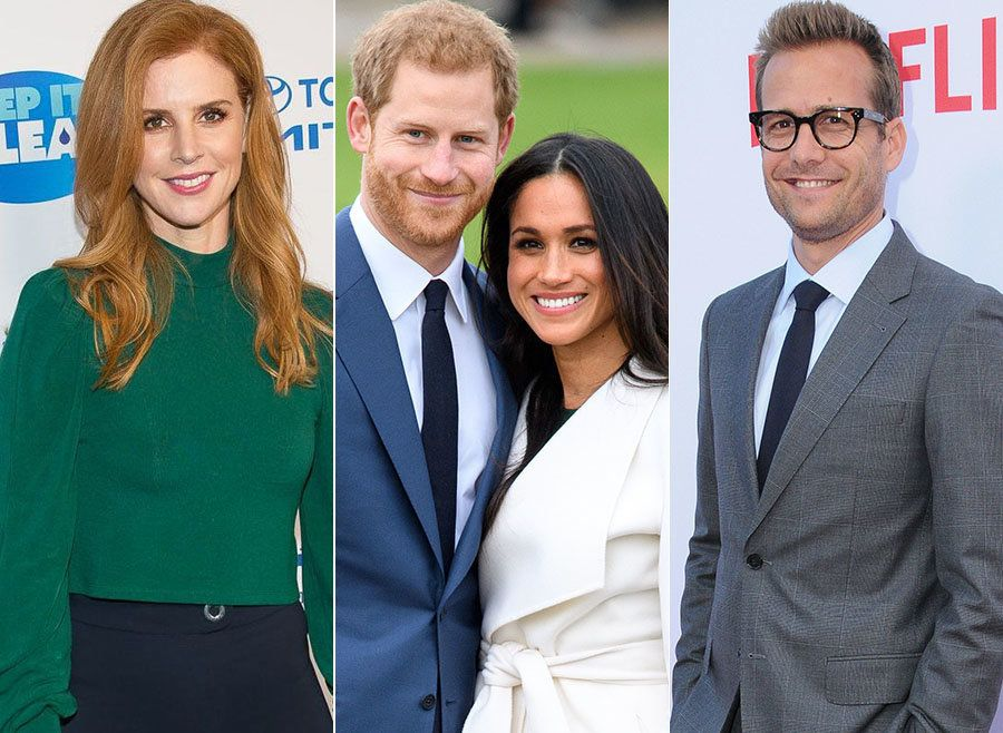 Meghan Markle's 'Suits' Co-Stars Have Begun Making Their Way To The UK For The Royal Wedding