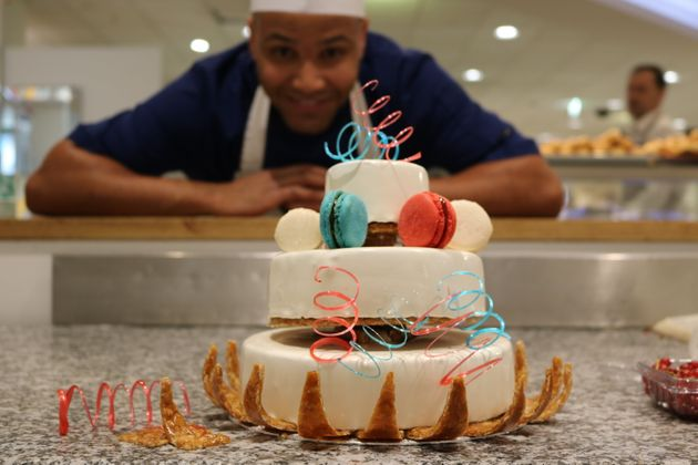 Brice Diallo Pattissier at Heidis Bakery Windsor and our wedding