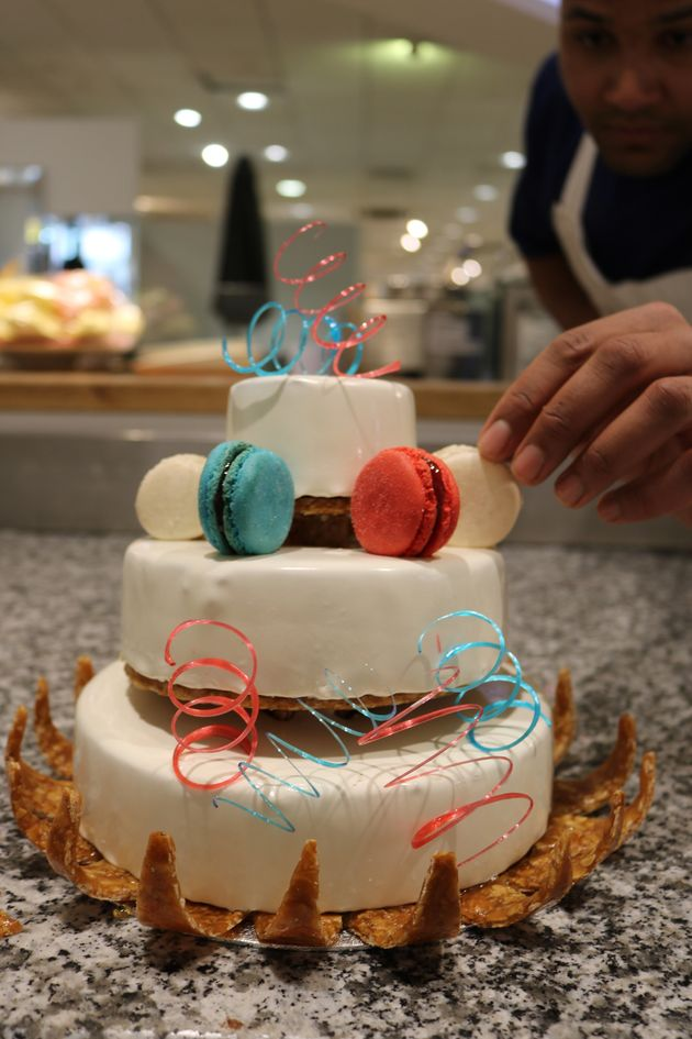 I Tried To Make A Wedding Cake Fit For A Queen - Here's What