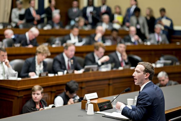 In response to the scandal the site's CEO and founder Mark Zuckerberg agreed to appear at two Congressional