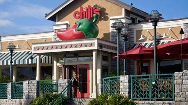Exterior of a Chili's restaurant in Hawaii storefront