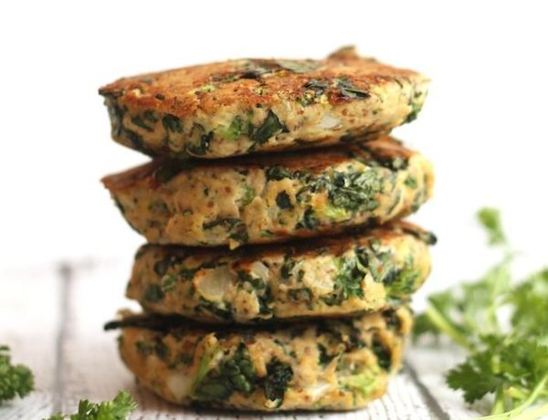 """<strong>Get the <a href=""""https://www.hummusapien.com/kale-and-broccoli-salmon-burgers/"""" target=""""_blank"""">Kale and Broccoli Sal"""