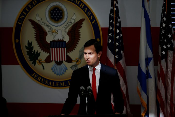"Jared Kushner referred to the protesters along the Gaza border as ""part of the problem and not part of the solution."""