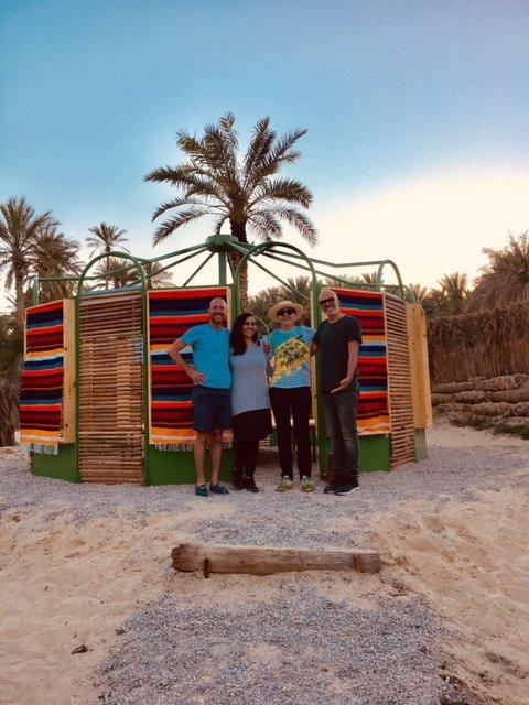 Une cabane pédagogique au cœur de l'Oasis de la Corbeille de