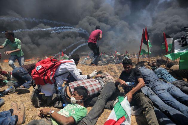 Trump, es Palestiniens n'oublient pas le couffin de Ben