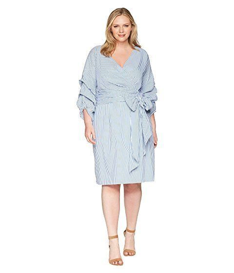 "<strong>Sizes</strong>: 14W to 24W<br>Get it <a href=""https://www.zappos.com/p/adrianna-papell-plus-size-short-wrap-dress-lon"