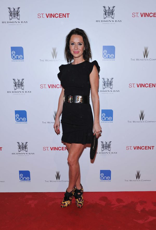 At the Hudson's Bay Celebrates St. Vincent afterparty at Patria during the 2014 Toronto International Film Festival.