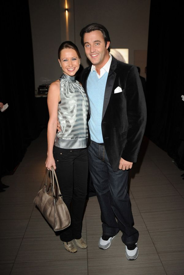 With then-boyfriend Ben Mulroney at the Ford Models and L'Oreal Holiday Party at the L'Oreal Academy in Toronto.
