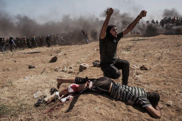 Gaza: 58 palestiniens tués, une escalade de violences condamnée par la communauté