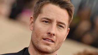 LOS ANGELES, CA - JANUARY 21:  Actors Justin Hartley attends the 24th Annual Screen Actors Guild Awards at The Shrine Auditorium on January 21, 2018 in Los Angeles, California.  (Photo by Axelle/Bauer-Griffin/FilmMagic)