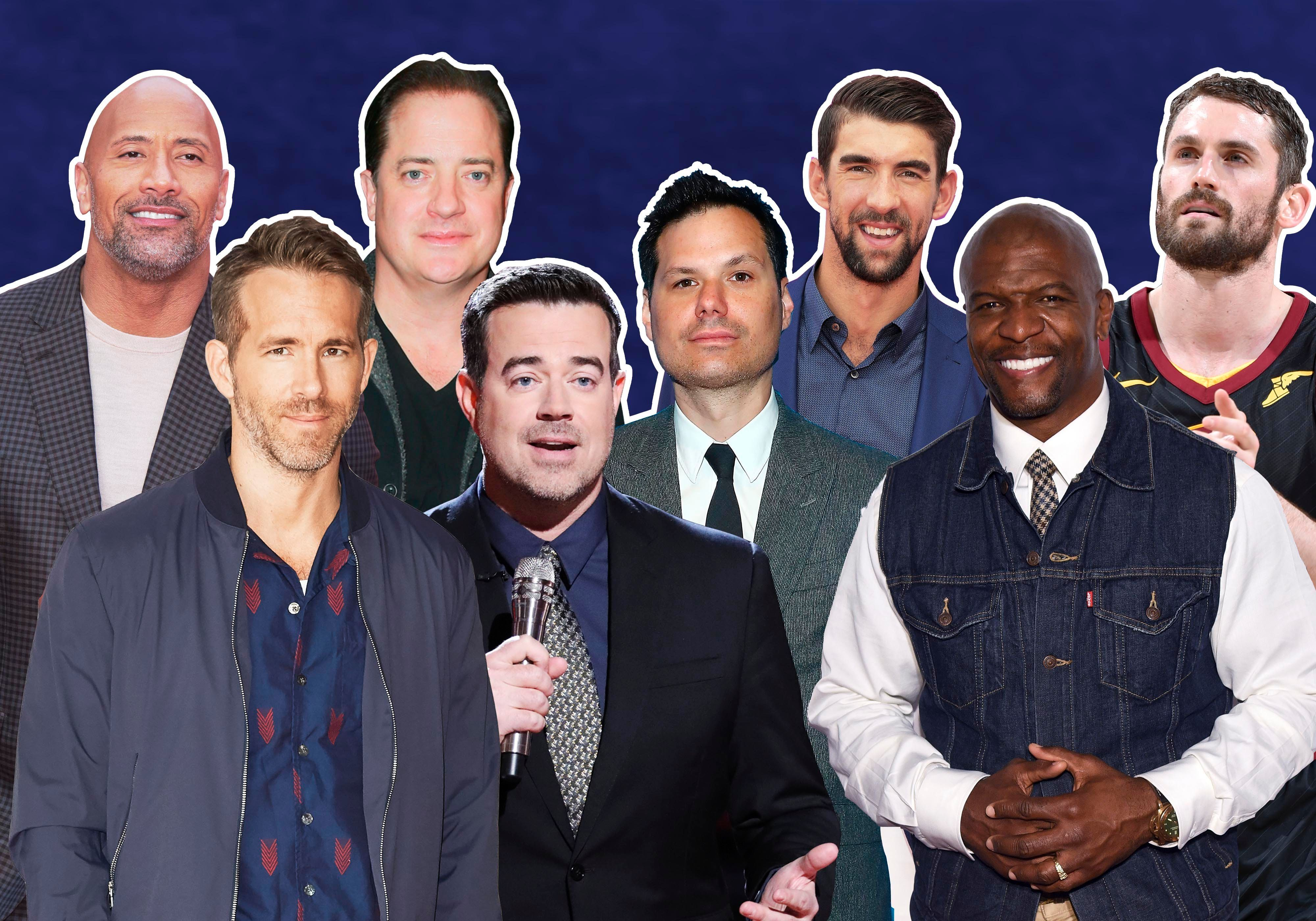 Several high-profile men have opened up about their mental healthin recent months.