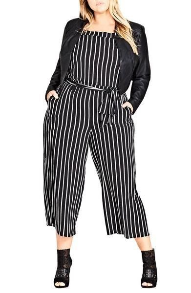 "Get the <a href=""https://shop.nordstrom.com/s/city-chic-stripe-play-jumpsuit-plus-size/4954460"" target=""_blank"">City Chic str"