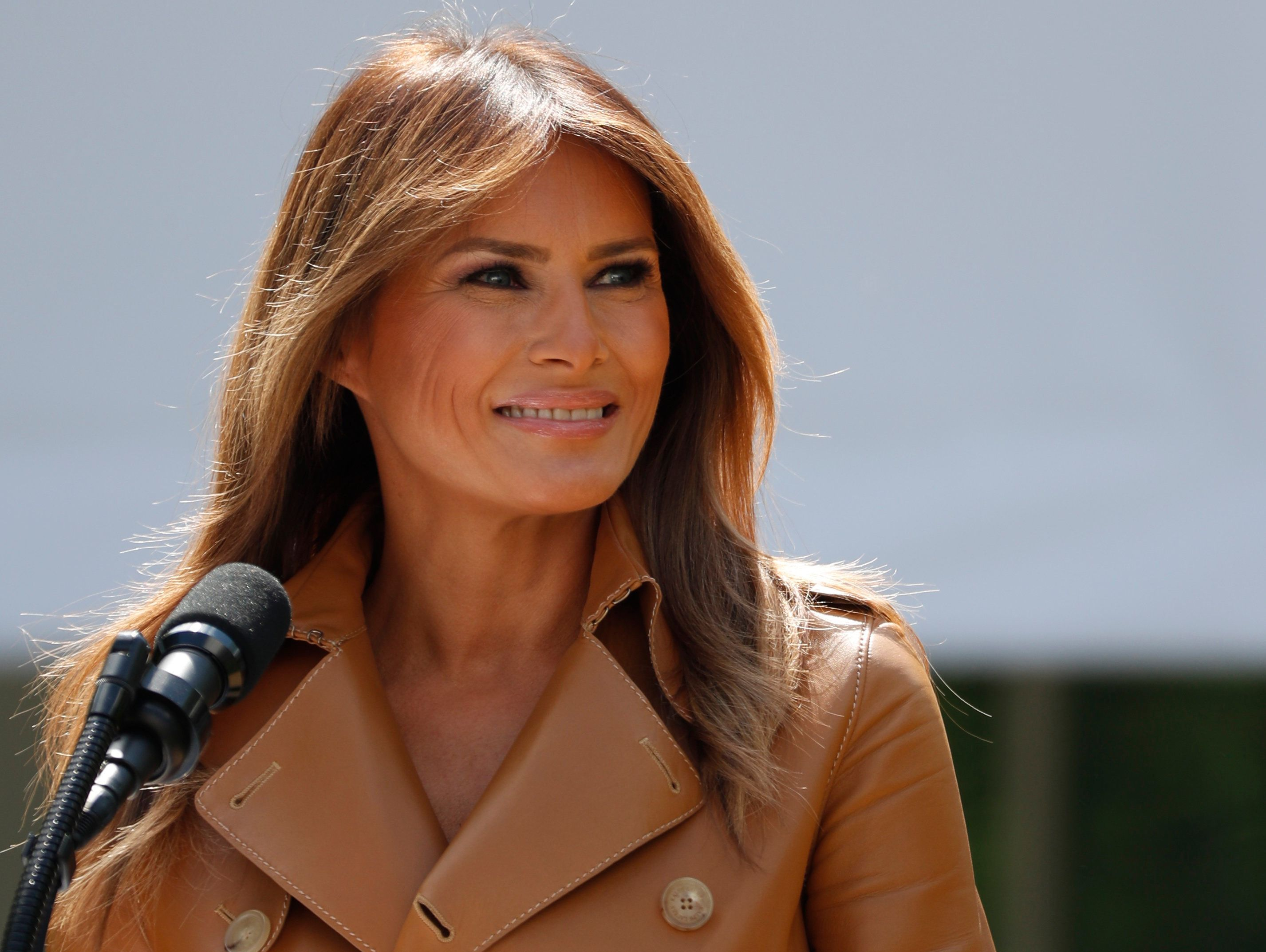 The first lady will likely remain hospitalized for the rest of the week.