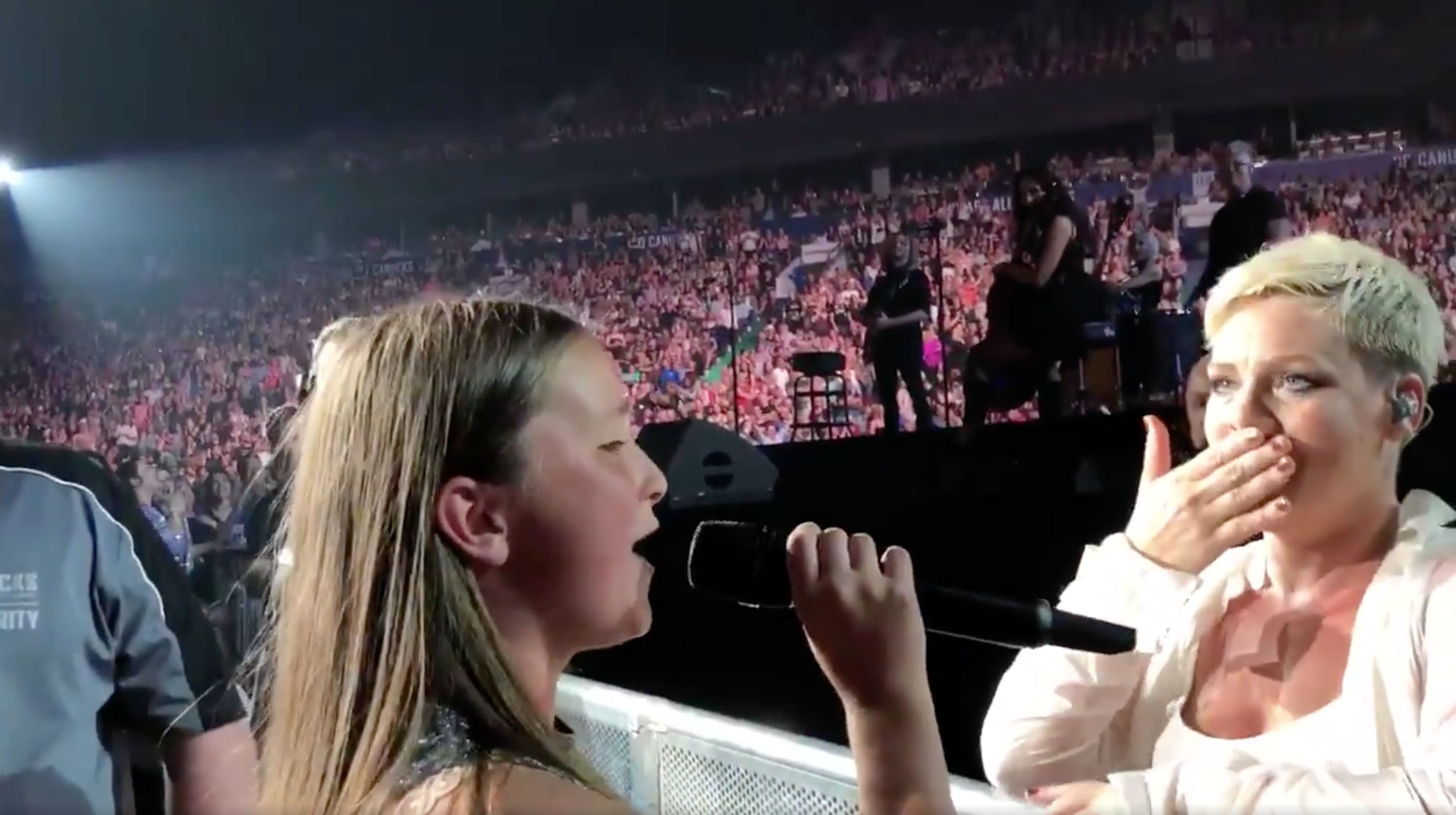 Pink Asks 12-Year-Old Vancouverite To Sing For Her And Is Blown