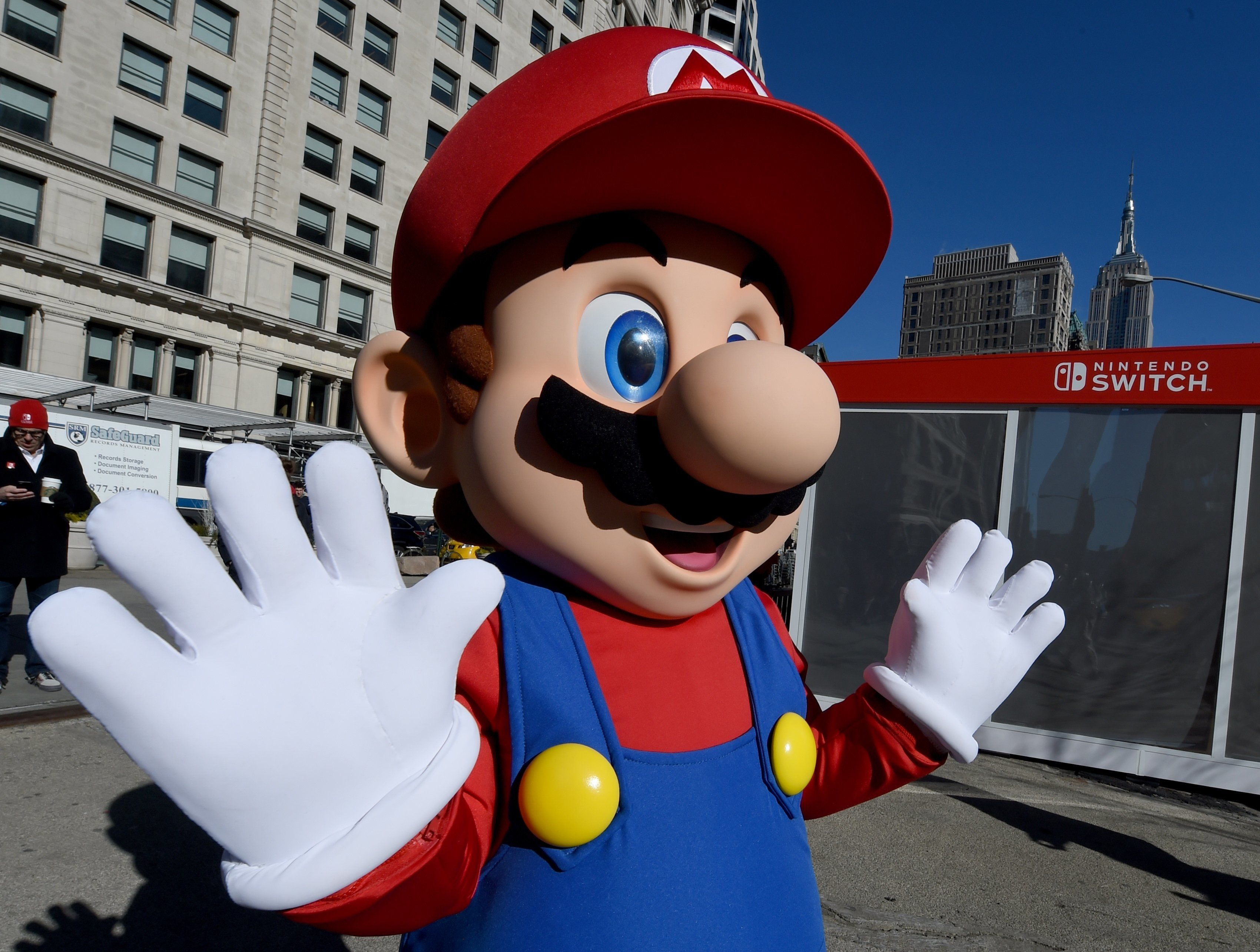 This Is What Super Mario Looks Like Without Hair, And People Are Freaked