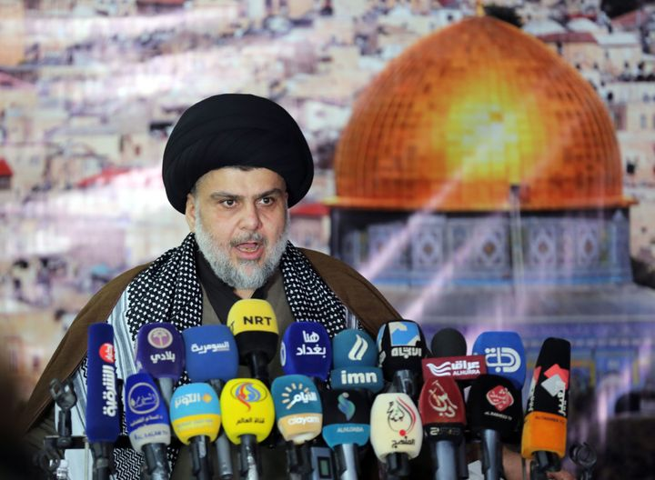 Sadr has denounced President Donald Trump's decision to recognize Jerusalem as Israel's capital and demanded the cl