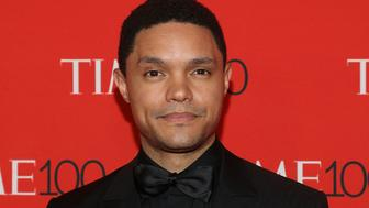 NEW YORK, NY - APRIL 24:  Trevor Noah attends the 2018 Time 100 Gala at Frederick P. Rose Hall, Jazz at Lincoln Center on April 24, 2018 in New York City.  (Photo by Taylor Hill/FilmMagic)