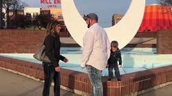 Weeing Boy Completely Upstaged His Mum's Proposal