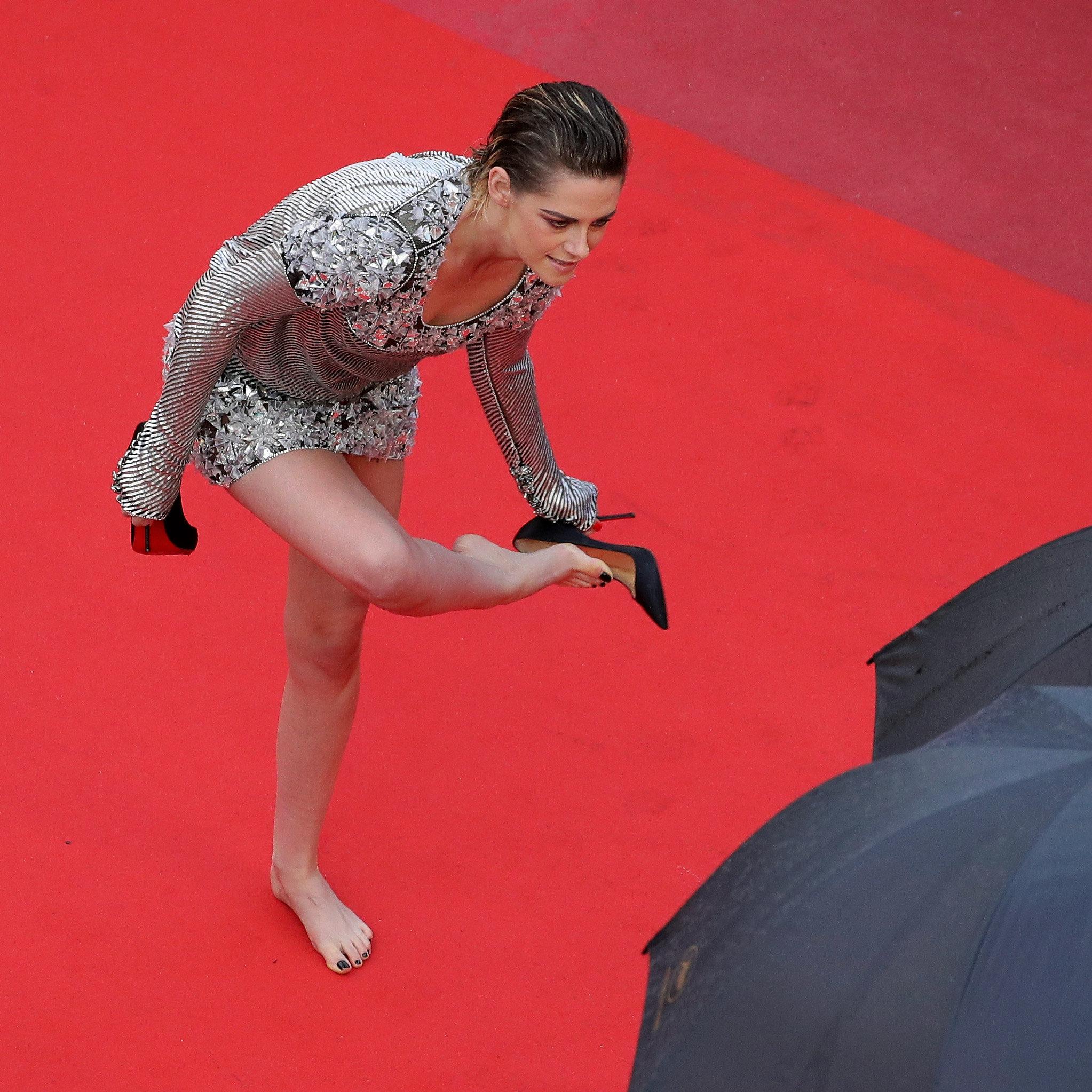 Kristen Stewart Defies Cannes 'Heels-Only