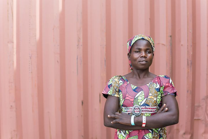 Mairamou lived with obstetric fistula for seven years before coming to the clinic.