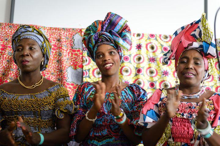 A dress celebration ceremony
