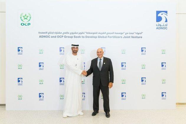 L'OCP et le géant émirati ADNOC scellent une joint-venture de production mondiale